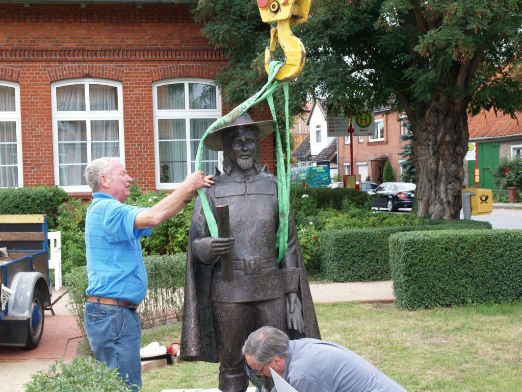 Fritz von dem Berge Denkmal in Bleckede