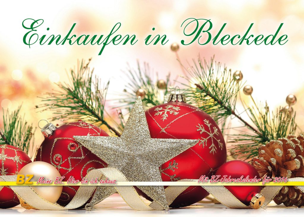Bleckeder Zeitung Druck Kalender