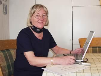 Ute Schötteldreyer, seit 1964 in der Redaktion