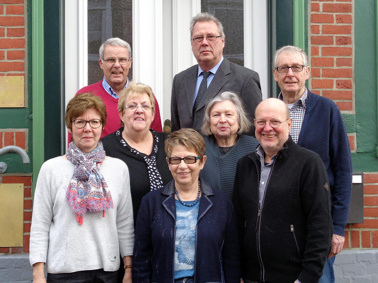 Der Vorstand des Bürgervereins