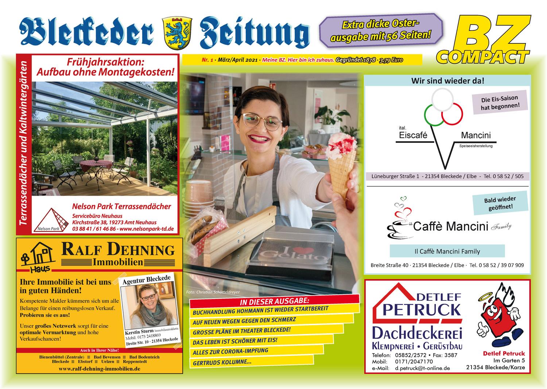 Die Oster-Ausgabe der Bleckeder Zeitung ist da!